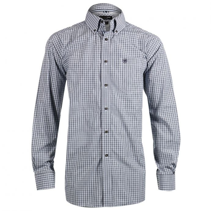 9b08bf09 Home; 10017654 Long Sleeve Performance Button Down Men's Western Ariat Shirt.  Skip to the end of the images gallery