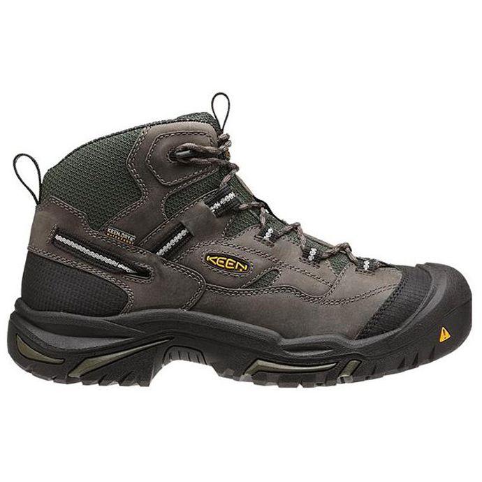 2cf39c6e61e 1011243 BRADDOCK MID Waterproof Steel Toe Keen Mens Work Boots