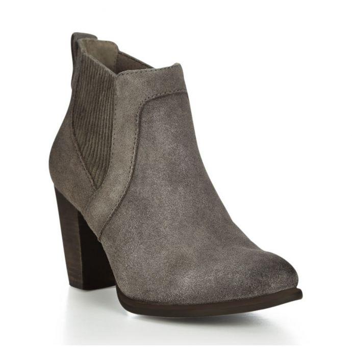 ff37d5aa3da Cobie II Nightfall Suede 3 Inch Block Heel UGG Womens Ankle Boots