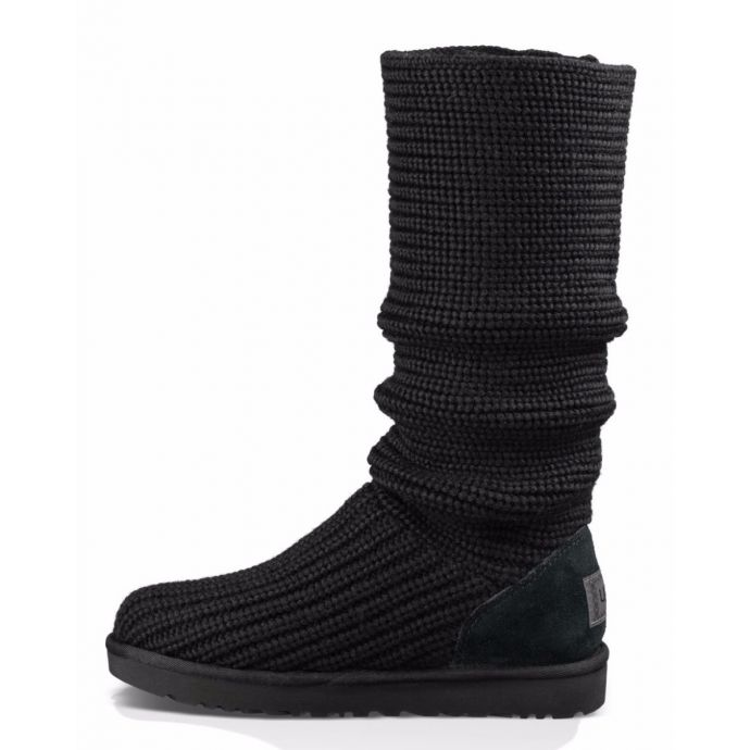 7b2192fdec6 1016555 Black Classic Cardy Womens Tall and Short UGG Boots