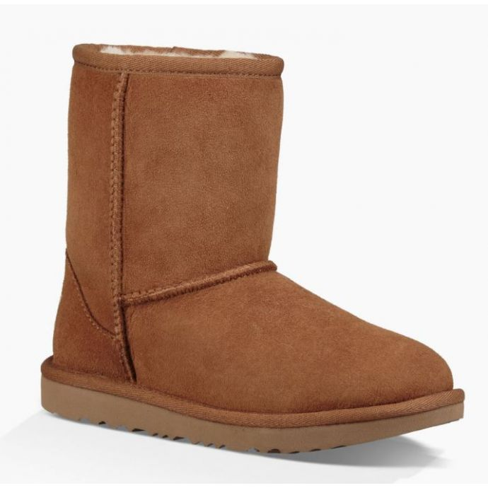 491964f786f UGG Classic II Kids Chestnut Short Boots 1017703K-CHE
