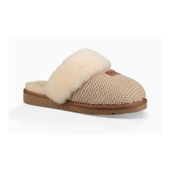 29ba0c0c4 Home; UGG Cream Cozy Knit Womens Slippers 1095116. Skip to the end of the  images gallery