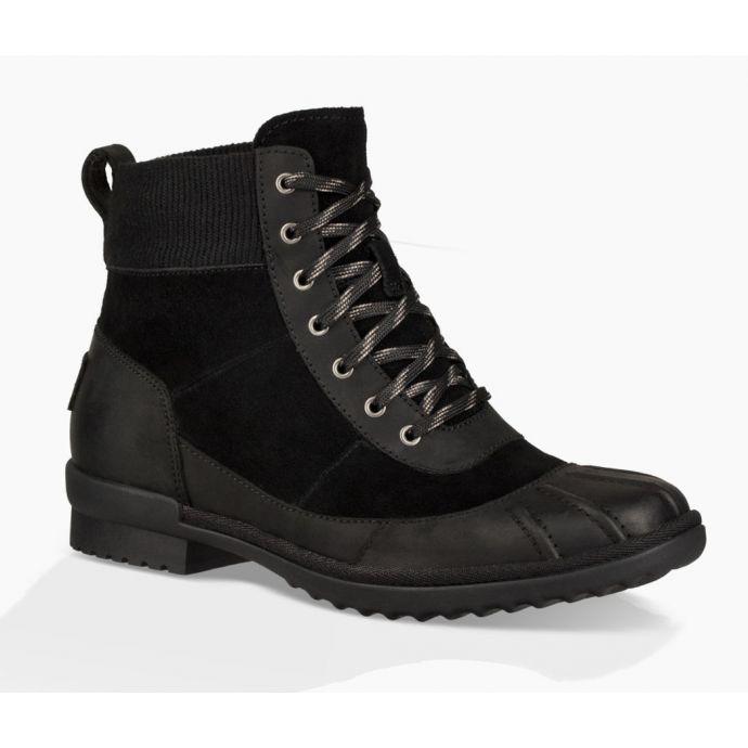 ae288d8a1cf UGG Black Cayli Womens Waterproof Boots 1095160