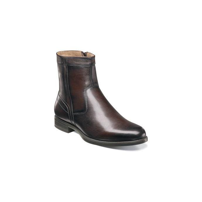 696298597a3 Florsheim Midtown Plain Toe Boot Brown Leather Mens Dress 12140-200