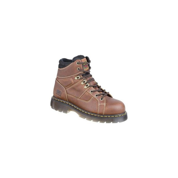 04057df1cb7 R12721200 Brown Ironbridge 8 Tie Lace to Toe Steel Toe Mens Work Boots
