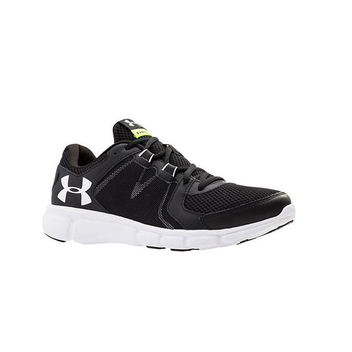 info for 354c0 a5bc6 Under Armour Thrill 2 Black/White Mesh Mens Running 1273946-001