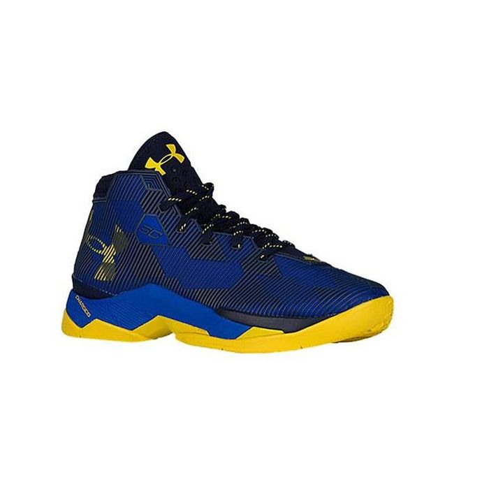 bac4640c8fd6 Under Armour Curry Blue Yellow Mens Basketball 1274425-400