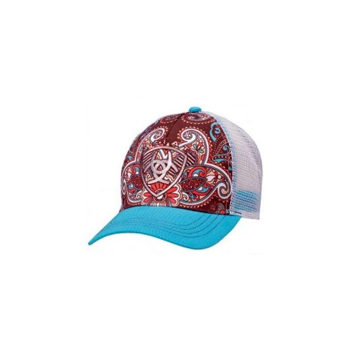 c56be37b9 1543827 Paisley Ariat Women's Baseball Cap One Size
