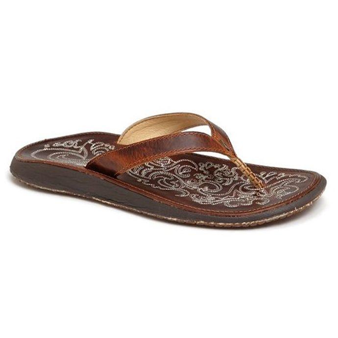 d0b84cc1a 20129-8787 Paniolo Natural Flip-Flop Thong Sandal Olukai Womens ...
