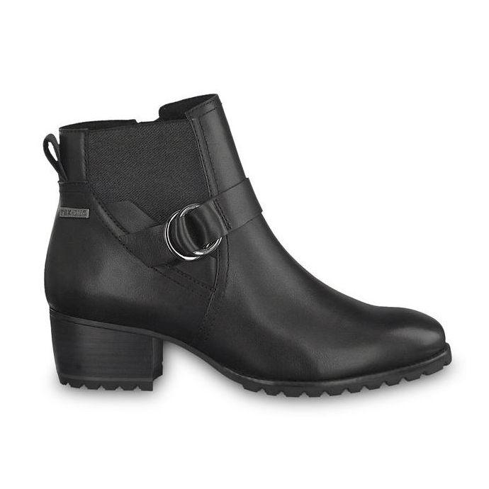 Tamaris Black Aleen Short Ankle Womens Boots 25030 29 003