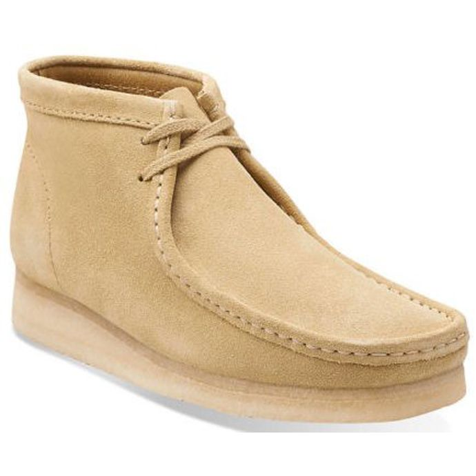 save off c40ae f32d9 26103811 Maple Suede Wallabee Comfort Clarks of England Mens Shoes