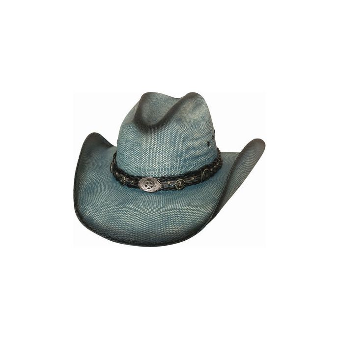 0a12a633fc6680 Home; Bullhide Into You Blue Womens Straw Hat 2920. Skip to the end of the  images gallery. Skip to the beginning of the images gallery