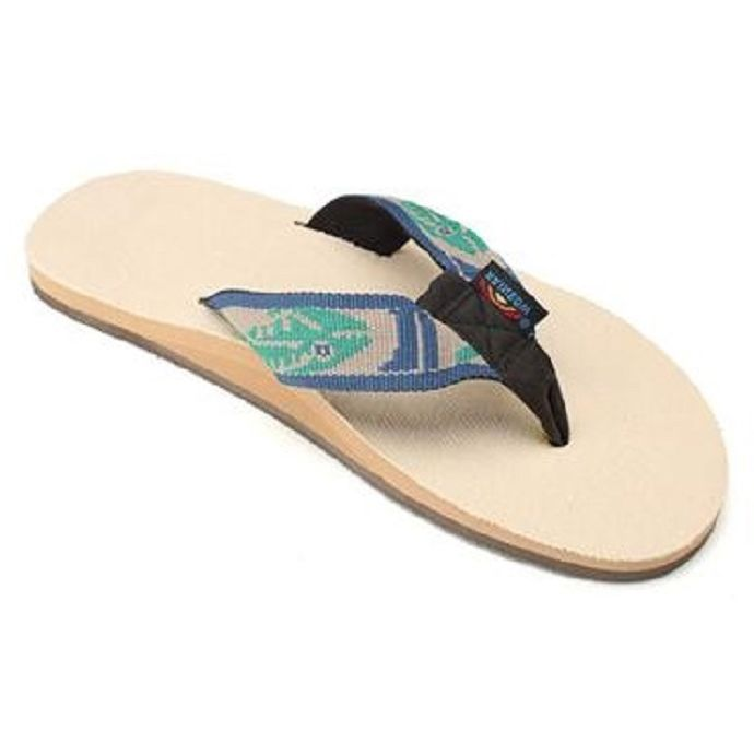 fe8eeb391 Rainbow Single Layer Hemp with a Nylon Fish Mens Sandals ...