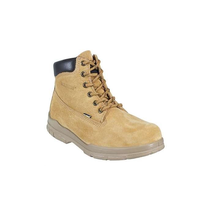 a0e21b35279 Gold Trappeur 6-in Insulated Waterproof Mens Hiker Wolverine Work Boot