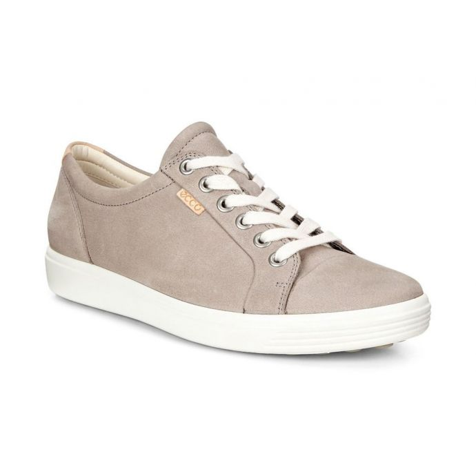 7c9ad5992 Home; Ecco Soft 7 Warm Grey Women's Sneaker 430003-02375. Skip to the end  of the images gallery