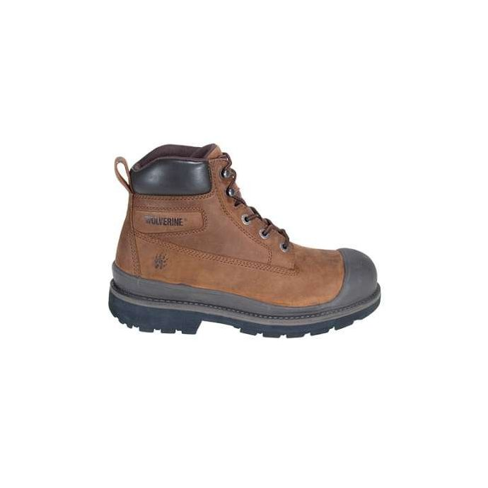 e8e8791a48d 4661 Men's Crawford Waterproof Steel Toe Brown Wolverine Boots
