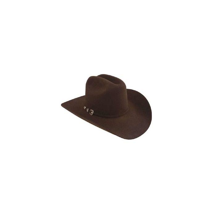 c497d93aaa034f 04752240CTLM Resistol CITY LIMITS Chocolate 4X Fur Felt Mens Western Cowboy  Hats