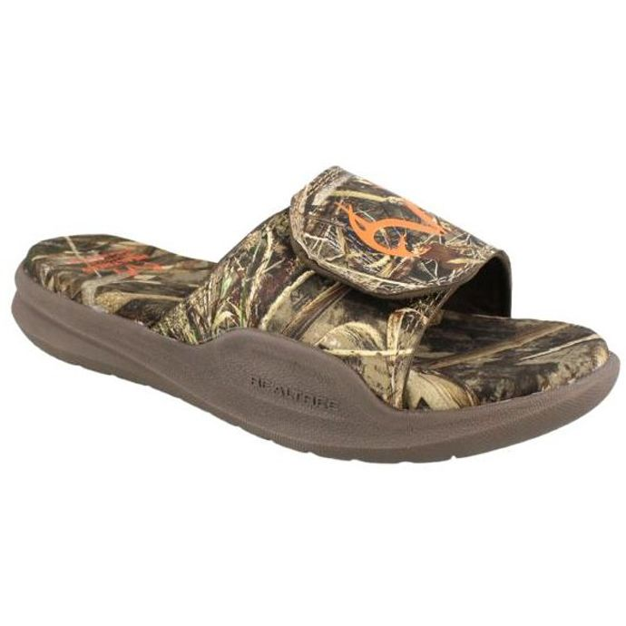 13d089c966d43 534275 Zach Max 5 Camouflage Real Tree Mens Slide Sandals