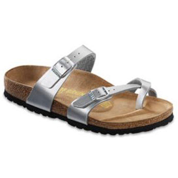 71081 Silver Comfort Sandalsr Mayari Birkenstock Birko Ladies Flor 1cJTlKF