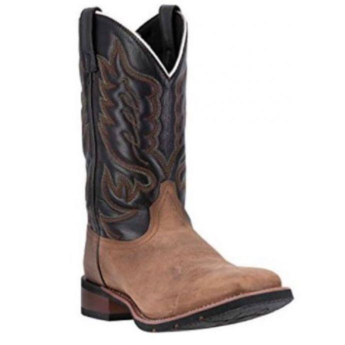 e97d6546f211e Laredo Montana Sand and Chocolate Mens Boots 7800