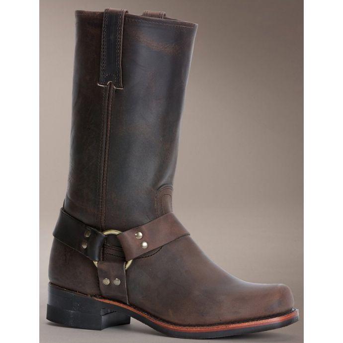 9e016ba39 87350 Gaucho Leather Harness 12 inch Shaft Frye Mens Western Boots