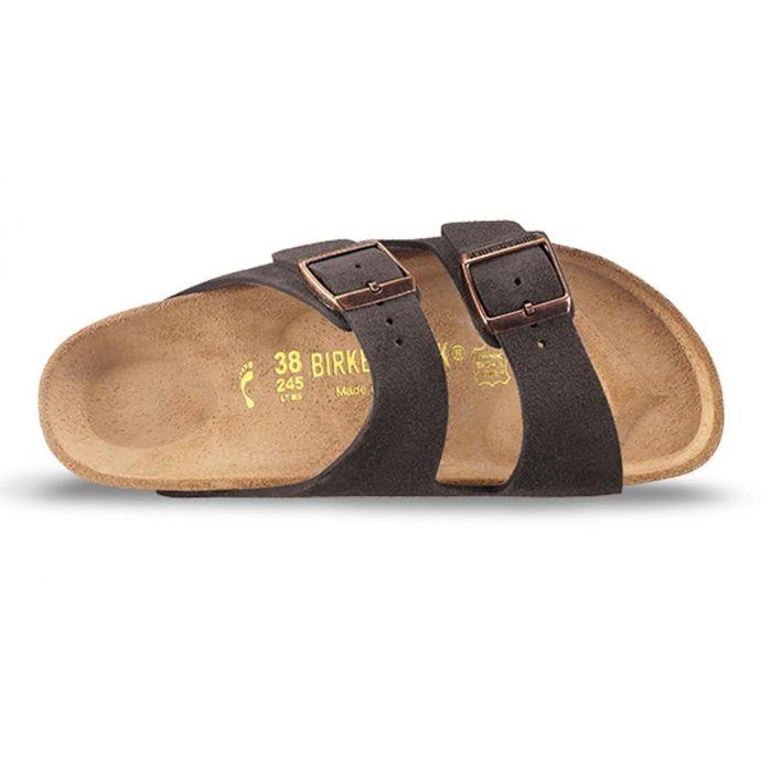 Sandals Mocha Suede Womens Birkenstock 951313 Arizona gyb76Yf