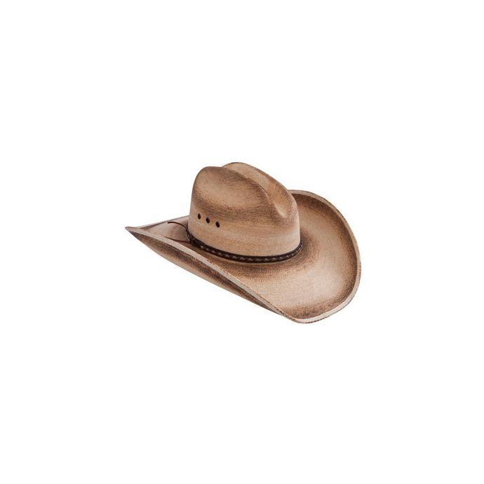 4d89a3f7ec3e2 RS16JAFB41 Jason Aldean GEORGIA BOY Palm Straw Resistol Mens Western Cowboy  Hats