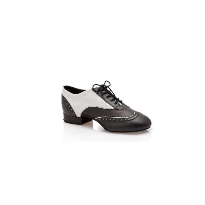 899d1ae68 BR1002 Black/White Travis Spectator 1 inch Heel Mens Capezio Ballroom Shoes