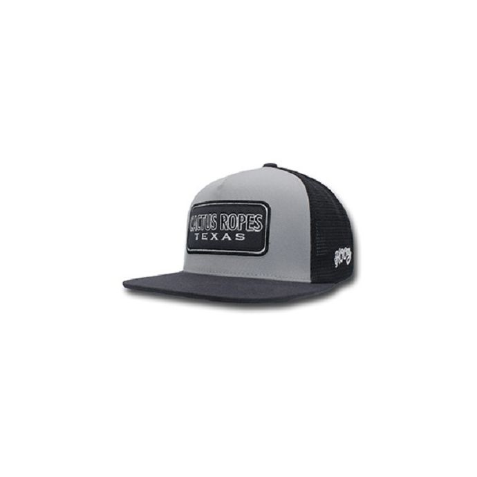 official photos ee5c0 14b83 Home  Hooey Grey Black Cactus Ropes Trucker Hat CR027. Skip to the end of  the images gallery. Skip to the beginning of the images gallery