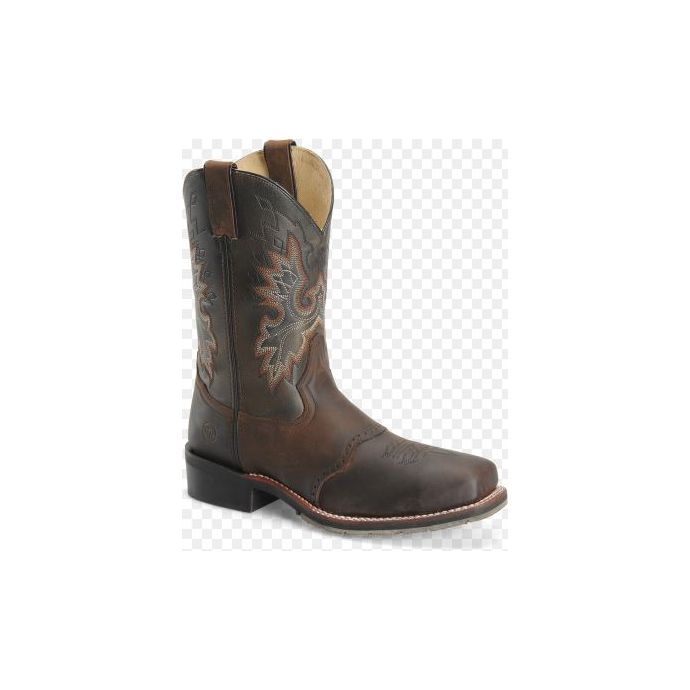 230a6557e99 DH3658 Brown Mens 11 Inch Square Steel Toe Roper Double H Work Boots