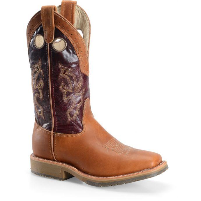 c0ec4da00b3 Double H Boot 11 Inch Wide Mens Square Toe Roper Boots DH979