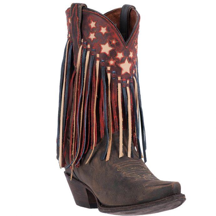 9de9efcb456 DP3531 Liberty Fringe Dan Post Womens Western Boots