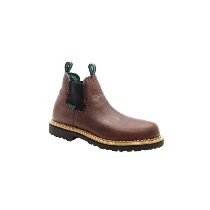 7e463fceb3a Georgia Soggy Brown Mens Giant Waterproof High Romeo Boot GR500