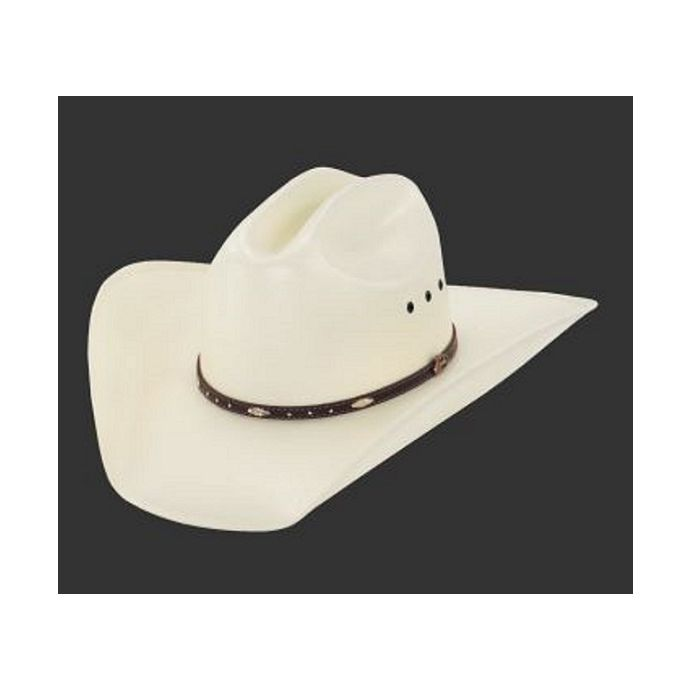 77ef0dfed2a78 JS1156BKHLS Larry Mahan 10X Bringle Straw Mens Milano Hat