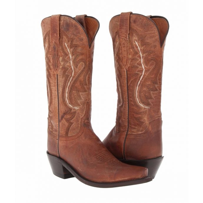 huge selection of 5dcf9 db849 M4999.S54 Tan Mad Dog Cassidy Womens Lucchese Western Boots