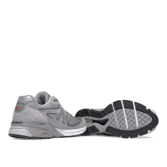 huge discount 4a199 fc369 New Balance M990 Pigskin/Mesh Grey Mens Running M990GL4