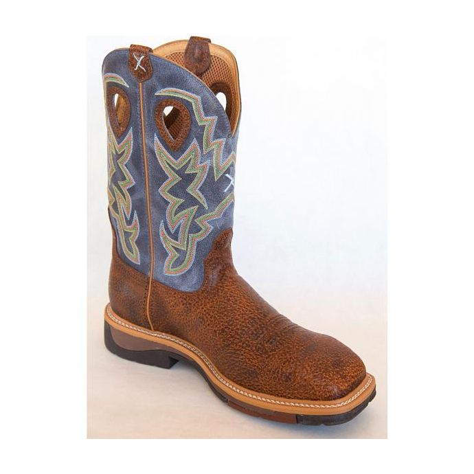 Boot Cowboy Twisted X Color Peanut Mens Mlcw016 Lite Navy