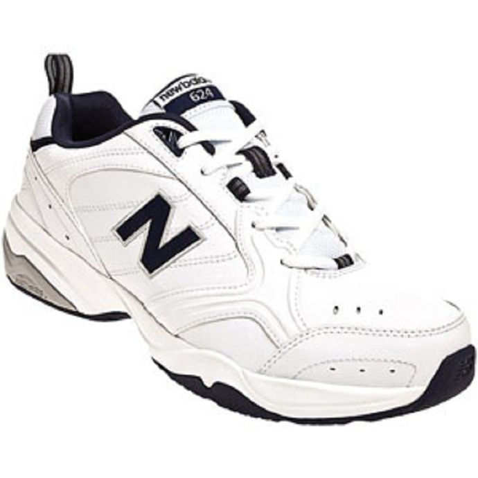 44dac9c85 Home; New Balance MX624 White Leather Mens Trainer MX624WN2. Skip to the  end of the images gallery. Skip to the beginning of the images gallery