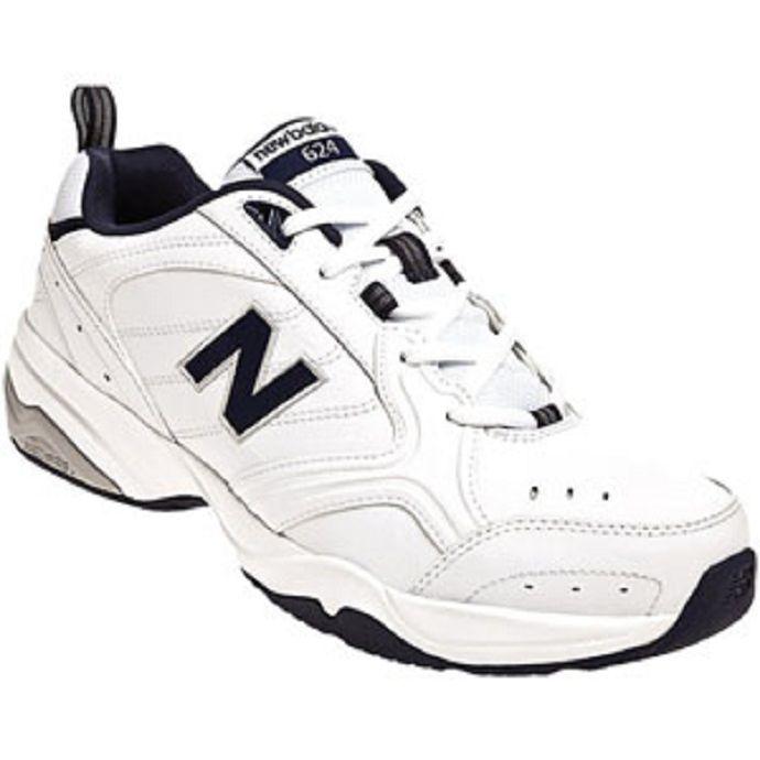 a24532b14b New Balance MX624 White Leather Mens Trainer MX624WN2