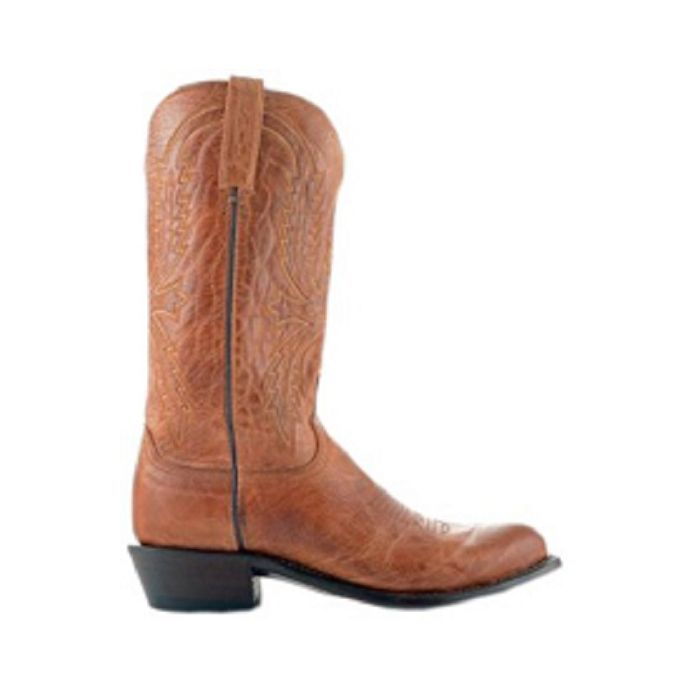 2e655cb9bef N1547-R4 Tan Mad Dog Goat R Toe 4 Heel Lucchese Mens Cowboy Boots