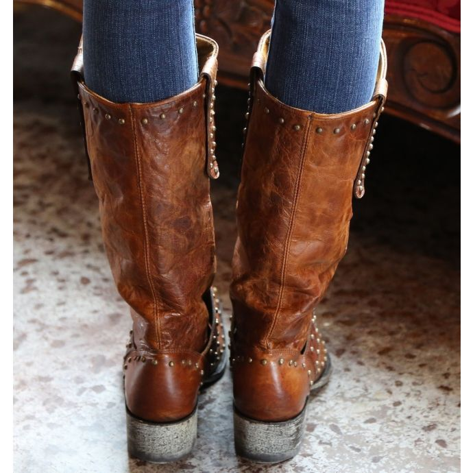 76439eaefaf L1295-3 Krusts Brass Old Gringo Womens Western Boots