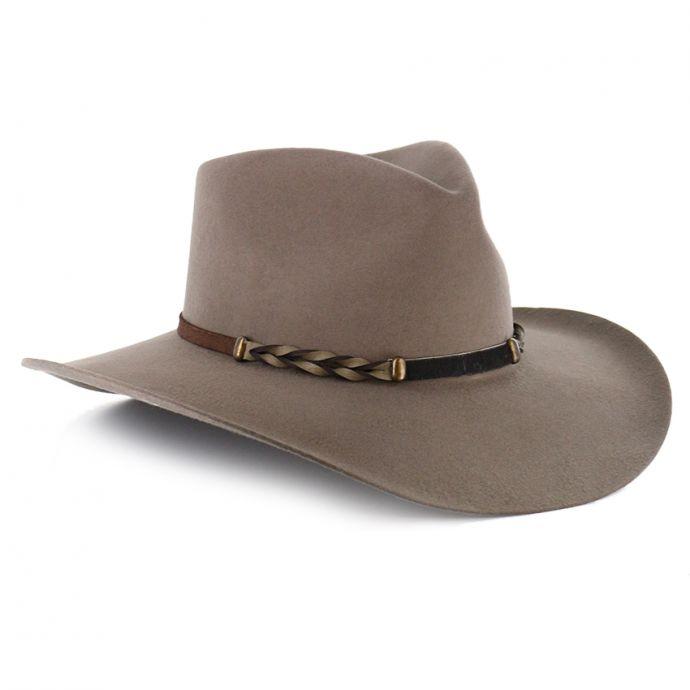 bd46145d7 SBDFTR-1634 Stone Drifter 4X Buffalo Fur Felt Western Stetson Hat