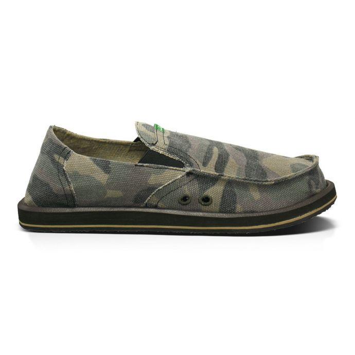 6be99f0b250e2 SMF1032-CAMO Camouflage Pick Pocket Mens Sidewalk Surfers Sanuk Shoes