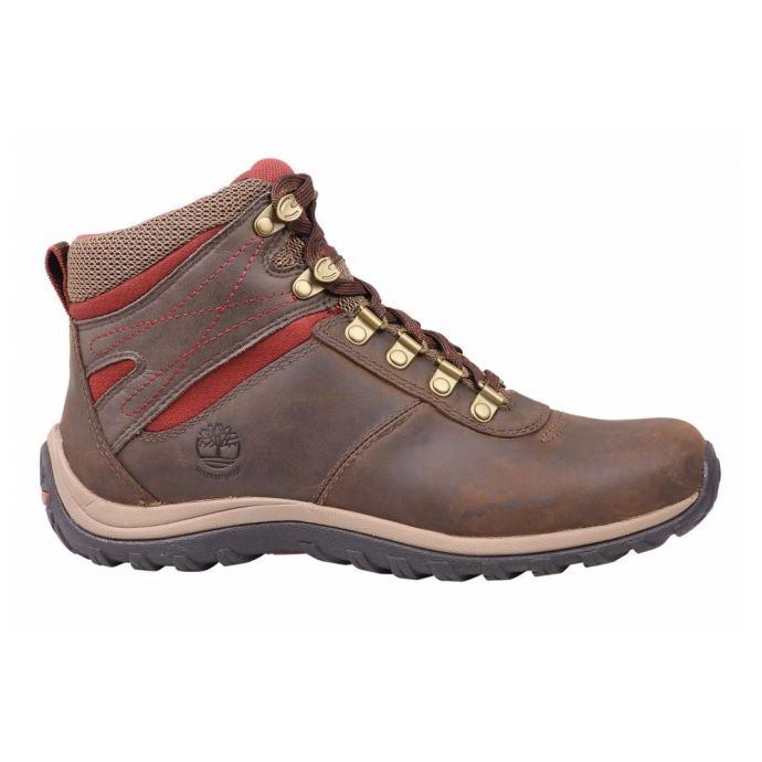 8df6bf81a2d21 TB09505A242 Dark Brown Norwood Mid Waterproof Womens Timberland Hiking Boots