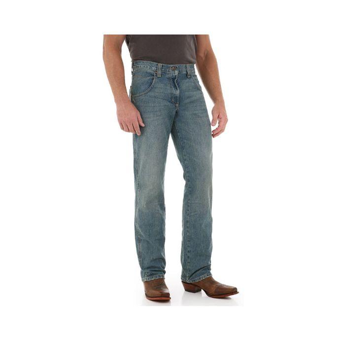 cf3c31fe WRT30AT Antique Denim Retro Straight Leg Wrangler Mens Jeans