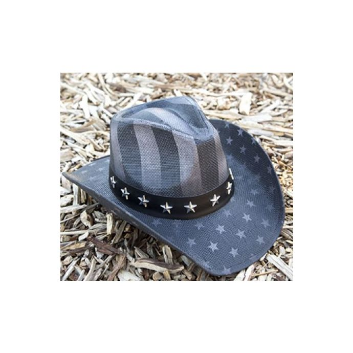 0ca78938c California Hat Company Freedom Strip Unisex Western Hat TX-722