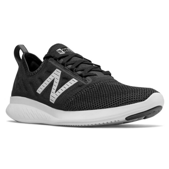 super populaire 752ae a8a90 New Balance Black with Outerspace Fuel Core Coast V4 Womens Running Shoes  WCSTLLK4