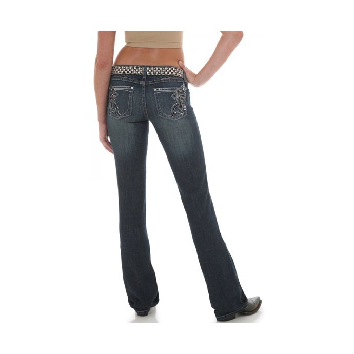 Wrangler Rock 47 >> Wrangler Rock 47 Ultra Low Rise Boot Cut Womens Jeans Whc07mf