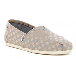 Toms Grey Alpargata Hemp Mud Hut Slip-On Womens Shoe 10009714