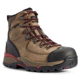 Ariat Mushroom Taupe Endeavor H20 Carbon Toe Mens Work Boots 10031589